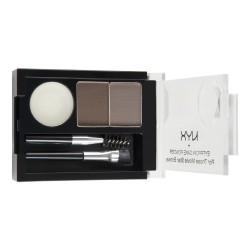 NYX Eyebrow Cake Powder / Senčilo za obrvi 03 Taupe/Ash
