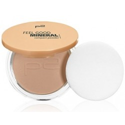 P2 feel good mineral compact powder 020 Ivory Shell