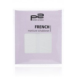 P2 French Manicure Schablonen