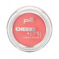 P2 Cheeks + Lips Cream Blush 020 Fancy Snow White