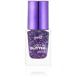 P2 Lost in glitter polish 060 Be divine