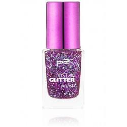 P2 Lost in glitter polish 070 Go crazy