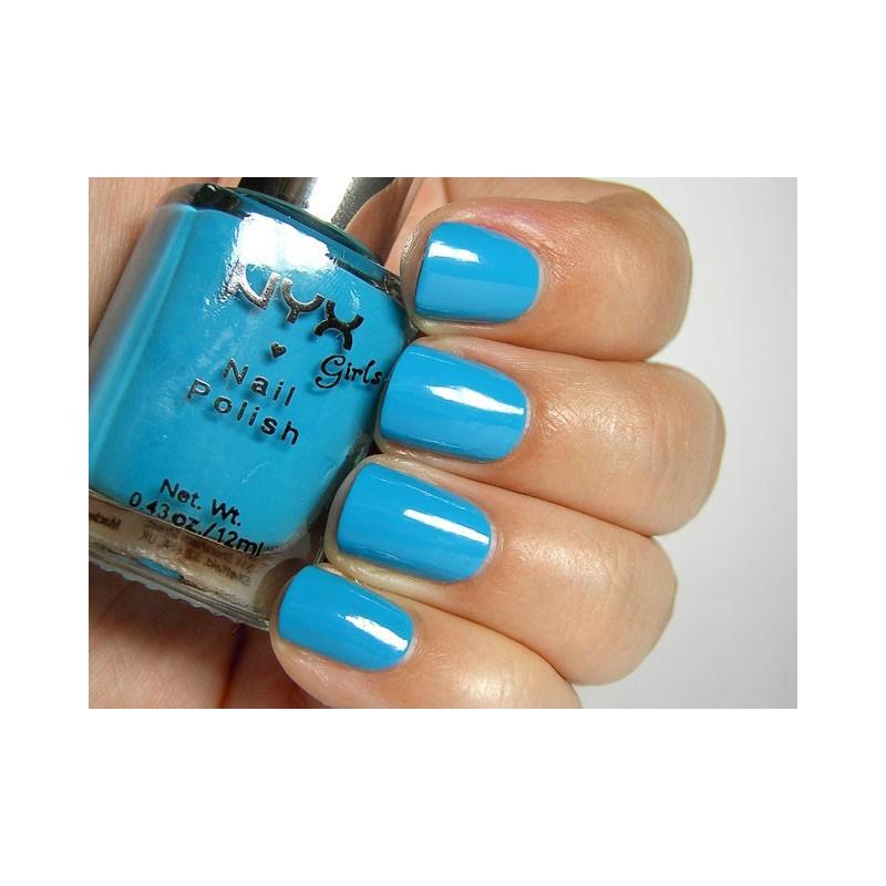 NYX Girls Nail Polish 110 Hot Blue