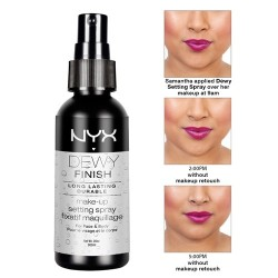 NYX  DEWY Make up setting spray