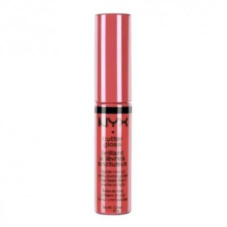 NYX Butter Lip Gloss 06 Peach Cobbler