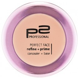 P2 Perfect face refine + prime concealer + base 010