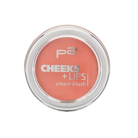 P2 Cheeks + Lips Cream Blush 010 Cinderella Drama