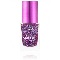 P2 Lost in glitter polish 070 Go crazy
