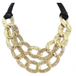 Ogrlica RUSTIK zlata