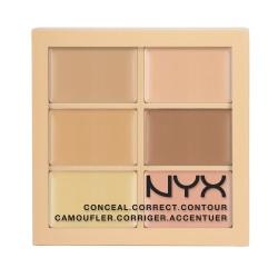 NYX Conceal, Correct, Contour palette 01 Light