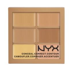 NYX Conceal, Correct, Contour palette 02 Medium