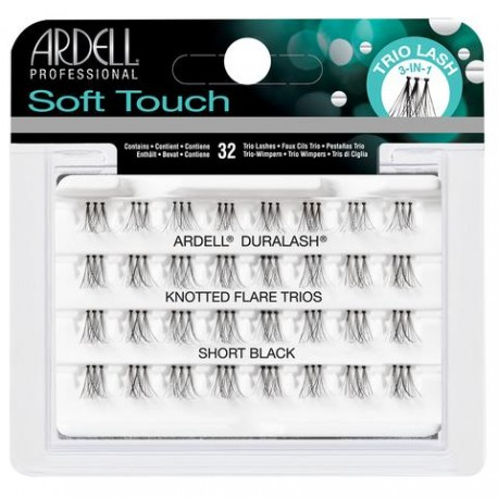 Ardell Soft Touch Knotter Flare Trios Individuals